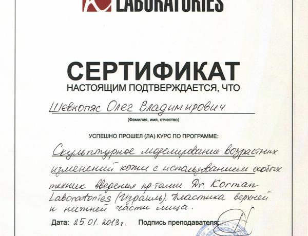 Шевкопяс Олег Владимирович